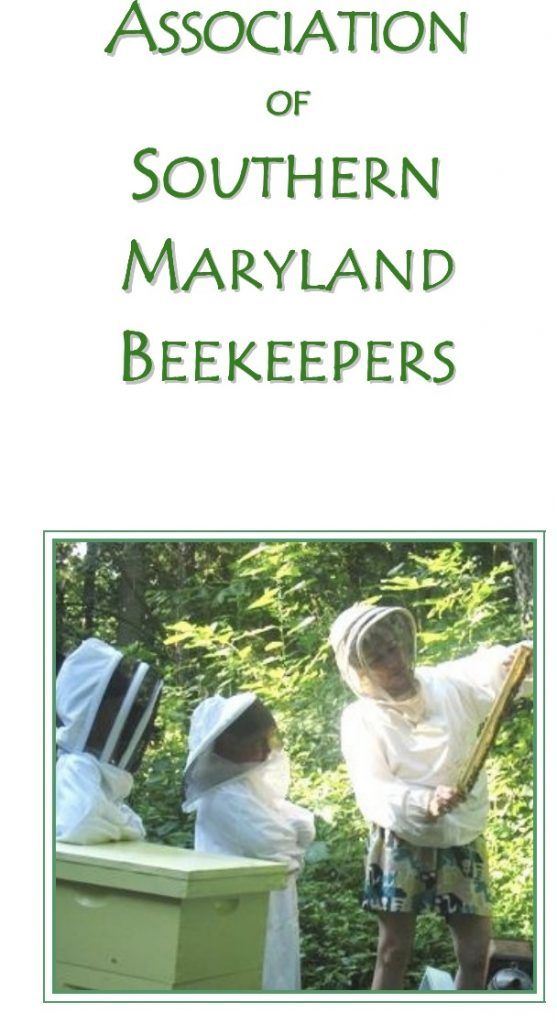 Association of Southern MD Beekeepers Teaching at College of Southern Maryland Online
