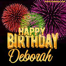 happy birthday Deborah